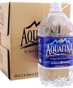 Thùng nước suối tinh khiết Aquafina - pepsico