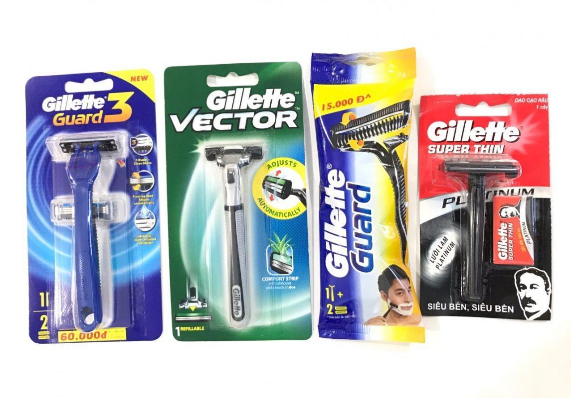 Dụng cụ cạo râu Gillette